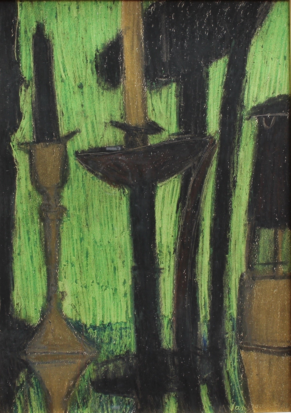 'Candles in Pastel' by M. Van Doren (1970)