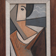 'Portrait of a Young Man' by V.R. (circa 1940s -1960s)