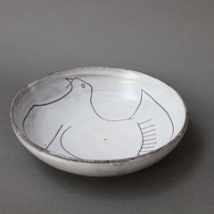 Mid-Century Decorative Bowl by Jacques Pouchain - Atelier Dieulefit (circa 1970s)
