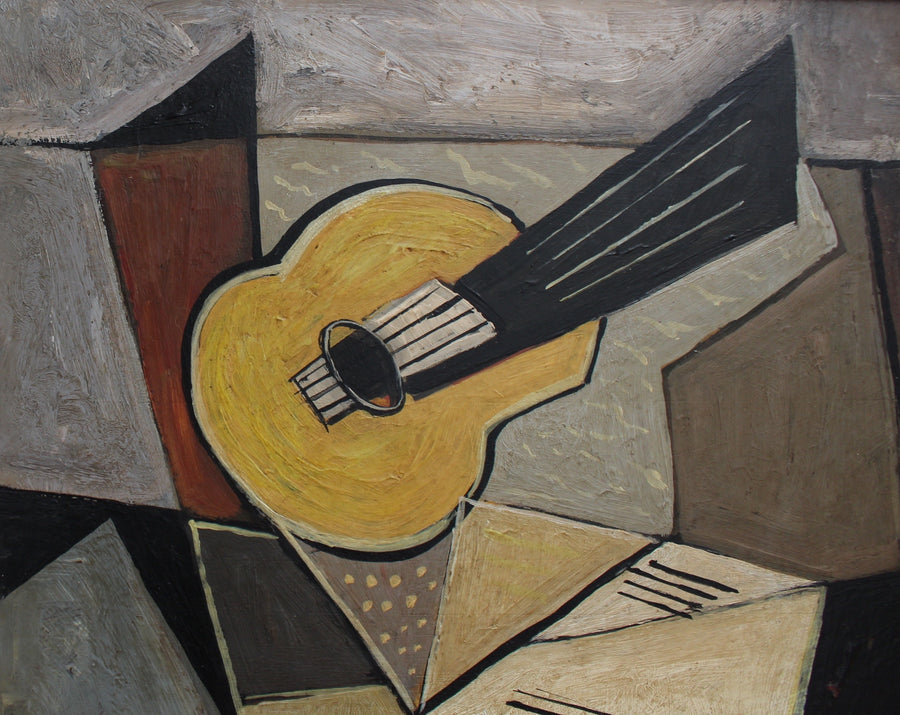 'Musical Geometry' by A. Maxy (circa 1940s - 1960s)