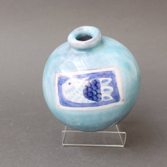 Decorative Ceramic Vase by Cloutier Brothers (circa 1970s)