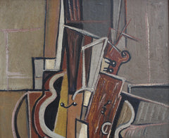 'Musical Strings' by J.G. (circa 1940s - 1950s)