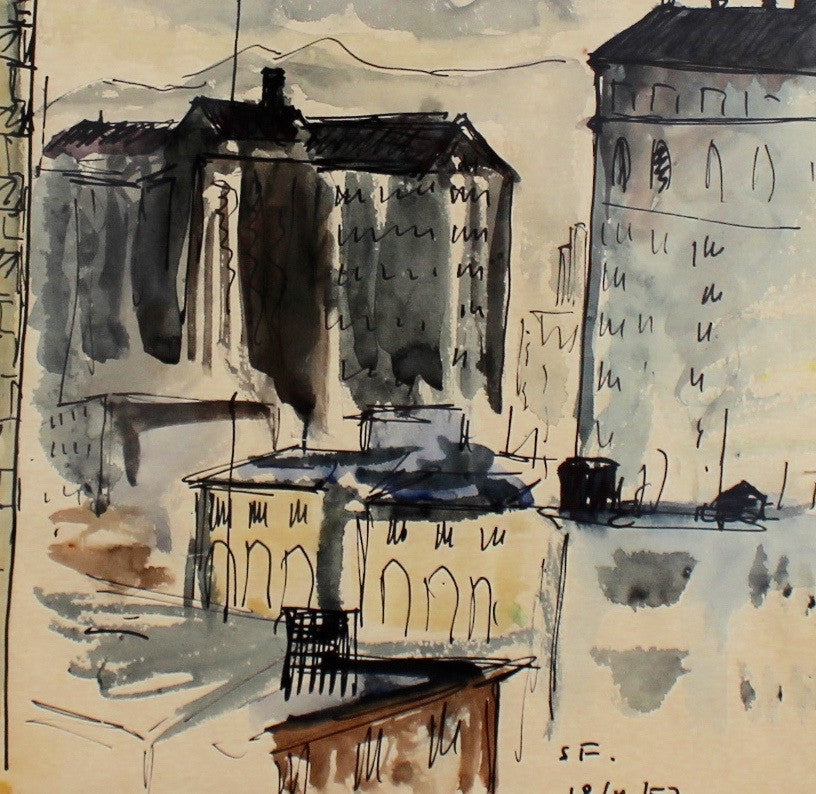 'Ville Isolé' by 'SF' (1957)