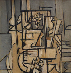 'Interior Still Life' by J.G. (circa 1940s - 1950s)