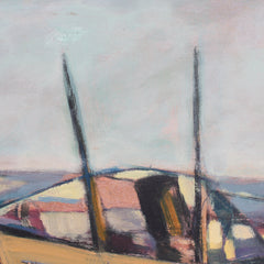 'Old Fishing Boat', Italian Tuscan School, (1972)
