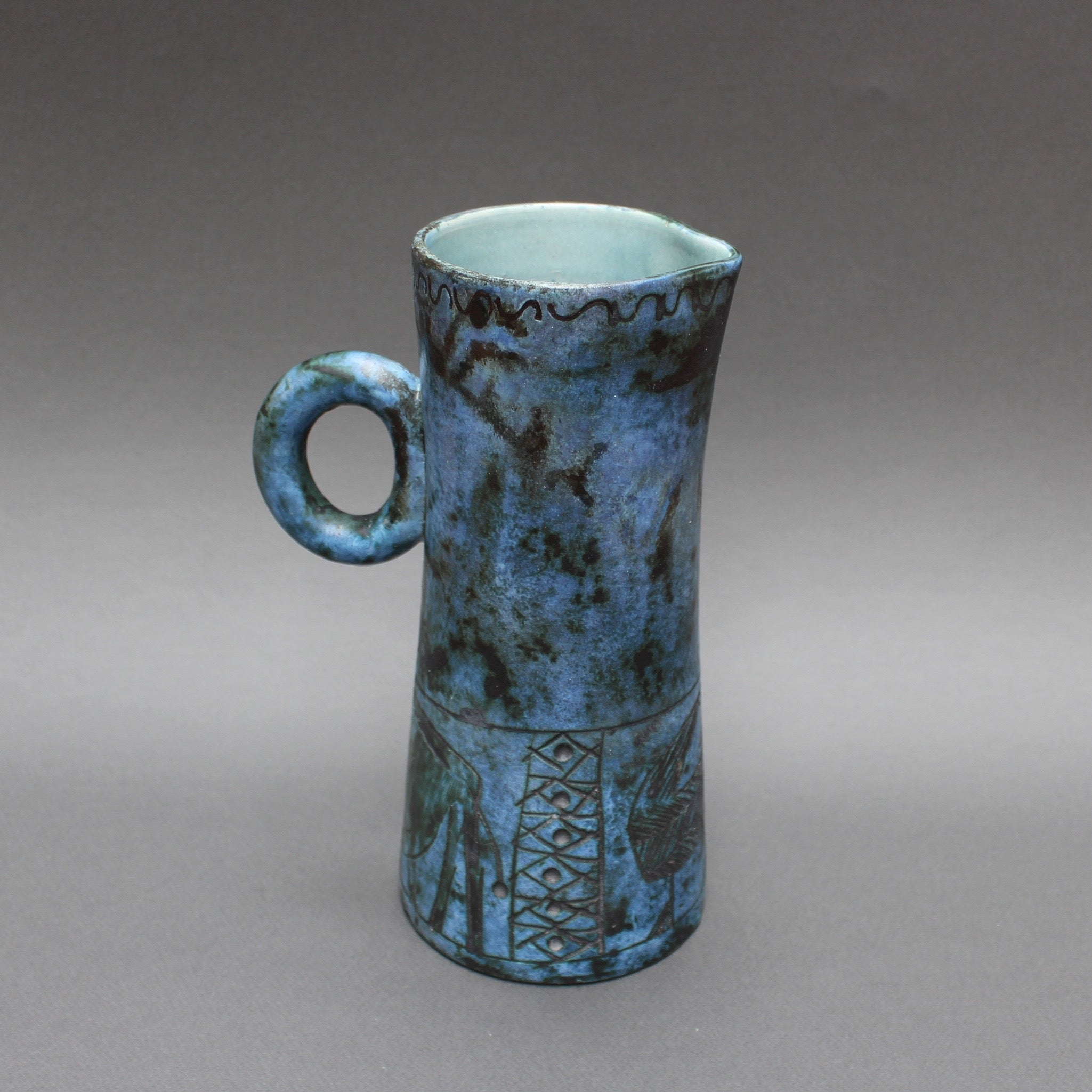 Ceramic Pitcher by Jacques Blin (Circa 1950s)