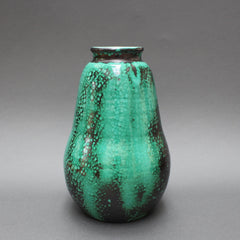 Pear-Shaped Ceramic Vase by Primavera (Circa 1930s)