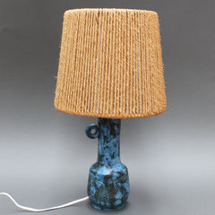 Ceramic Table Lamp by Jacques Blin (Circa 1950s)