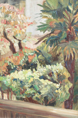 'View Over a Mediterranean Park', French School (circa 1930s)