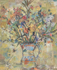'Floral Bouquet in Pitcher' by Joseph Paul Louis Bergès (circa 1930s)