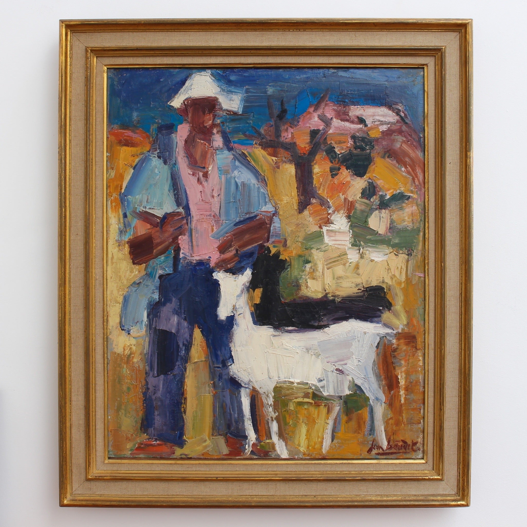 'The Spanish Shepherd' by Jean Baudet (1966)