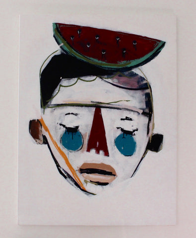 'Boy With Watermelon' by Rodrigo Branco  (2014)