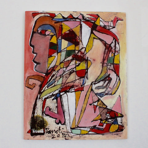'Abstract Figure 2' by Pandi (I Nyoman Sutaria) (2014)