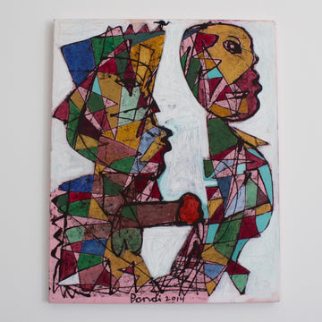 'Abstract Figure 3' by Pandi (I Nyoman Sutaria) (2014)