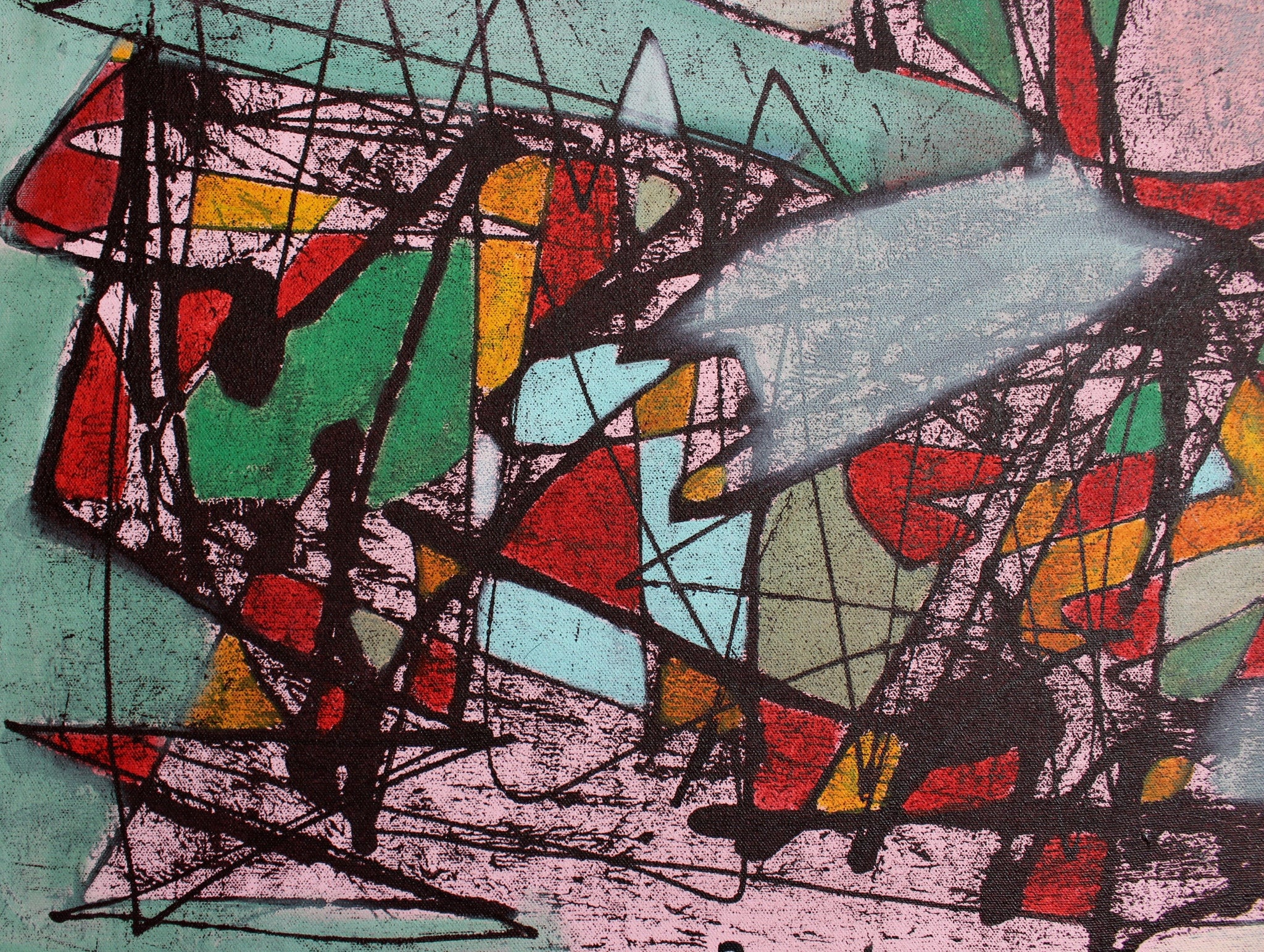 'Abstract Figure 1' by Pandi (I Nyoman Sutaria) (2014)