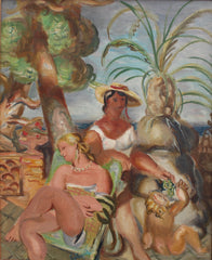 'The Bathers' by Louis Robert Arthur Latapie (Circa 1920s)