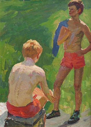 'Boys in Summertime' by Unknown (Circa 1970s)
