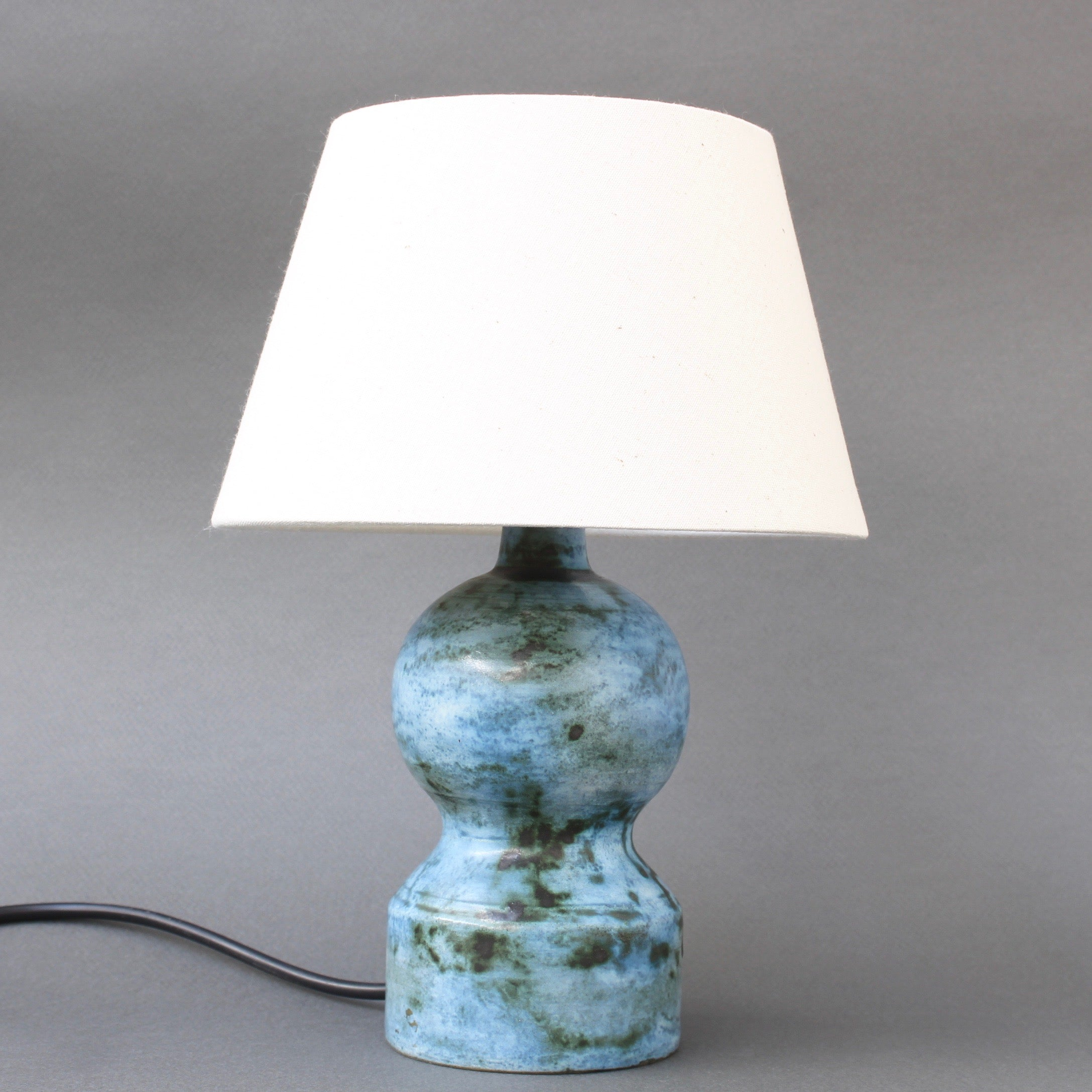 Mid-Century Ceramic Table Lamp by Jacques Blin (circa 1950s) - Small