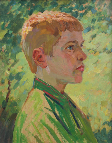 'Portrait of a Red Headed Boy' by Unknown (Circa 1970s)