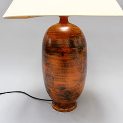 Mid-Century Ceramic Table Lamp by Jacques Blin (circa 1950s)