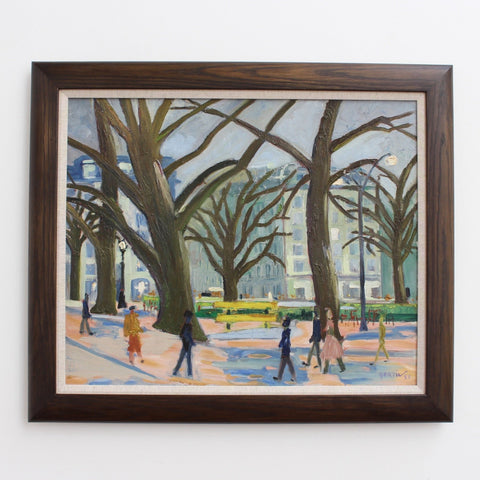 'Roundabout on the Champs-Élysées' by Roger Bertin (1957)