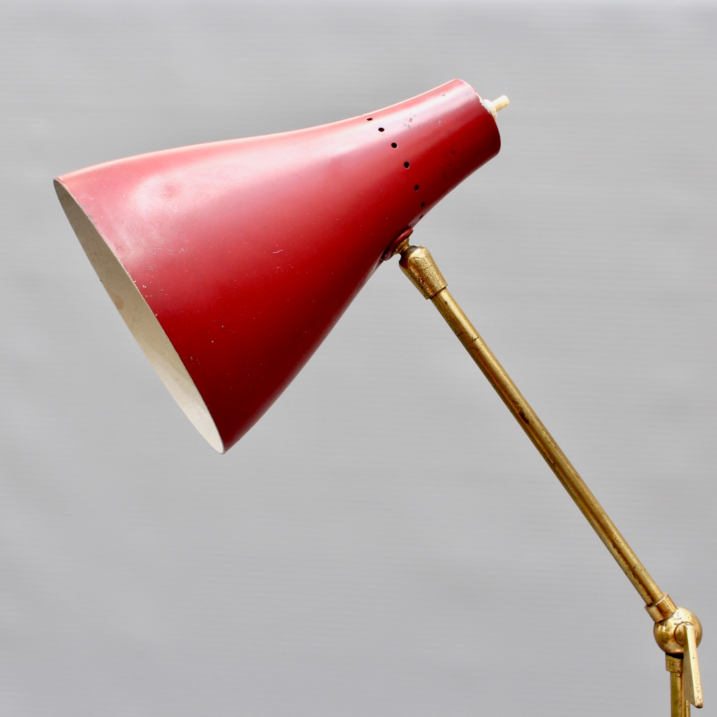 Mid-Century Italian Floor Lamp from Stilnovo (circa 1950s)