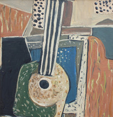 'Still Life with Guitar', School of Berlin (circa 1940s - 1960s)