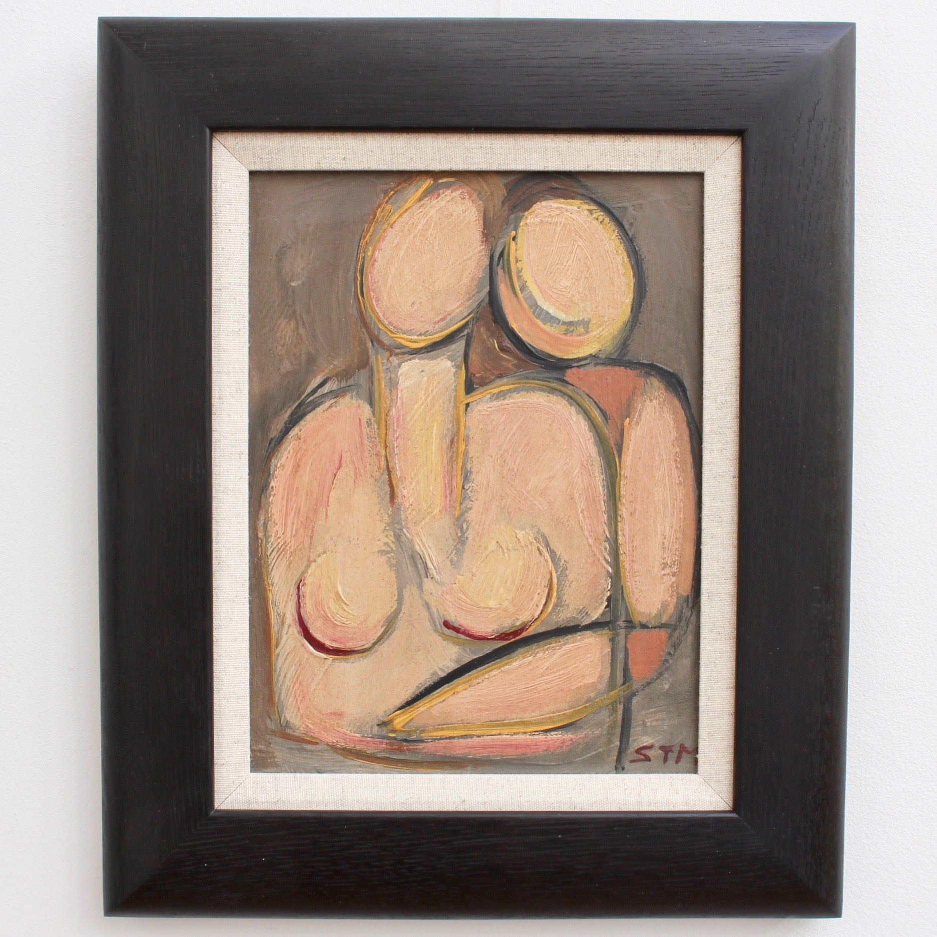 'The Firm Embrace' by STM (circa 1940s - 1960s)