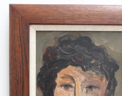 'Portrait of Cerebral Woman' by Ross (circa 1940s - 1960s)