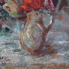 'Bouquet of Flowers in Water Jug' by Lilian E. Whitteker (1969)