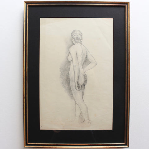 Set of Four Pencil Drawings by Bernard Sleigh, RBSA (circa 1900 - 1920)