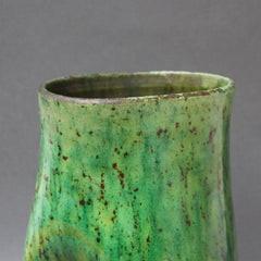 Ceramic Green Vase by Accolay (Circa 1960s)