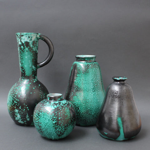 Set of Four Ceramic Vases by Primavera (Circa 1930s)