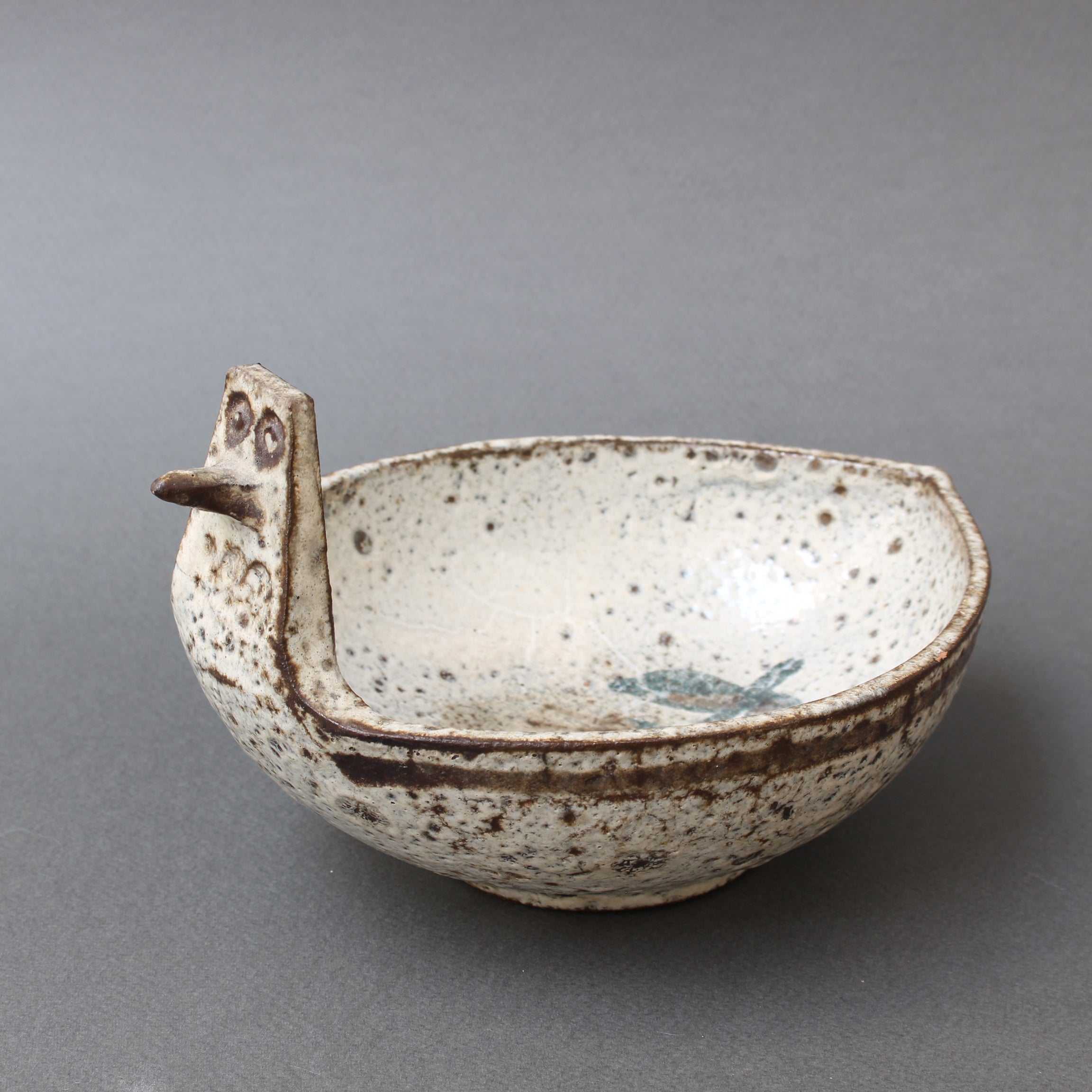 French Ceramic Bowl / Vide-Poche by Gustave Reynaud - Le Mûrier (circa 1950s)