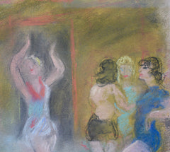 'The Cabaret Rehearsal' by Charles Camoin (circa 1920s - 1930s)