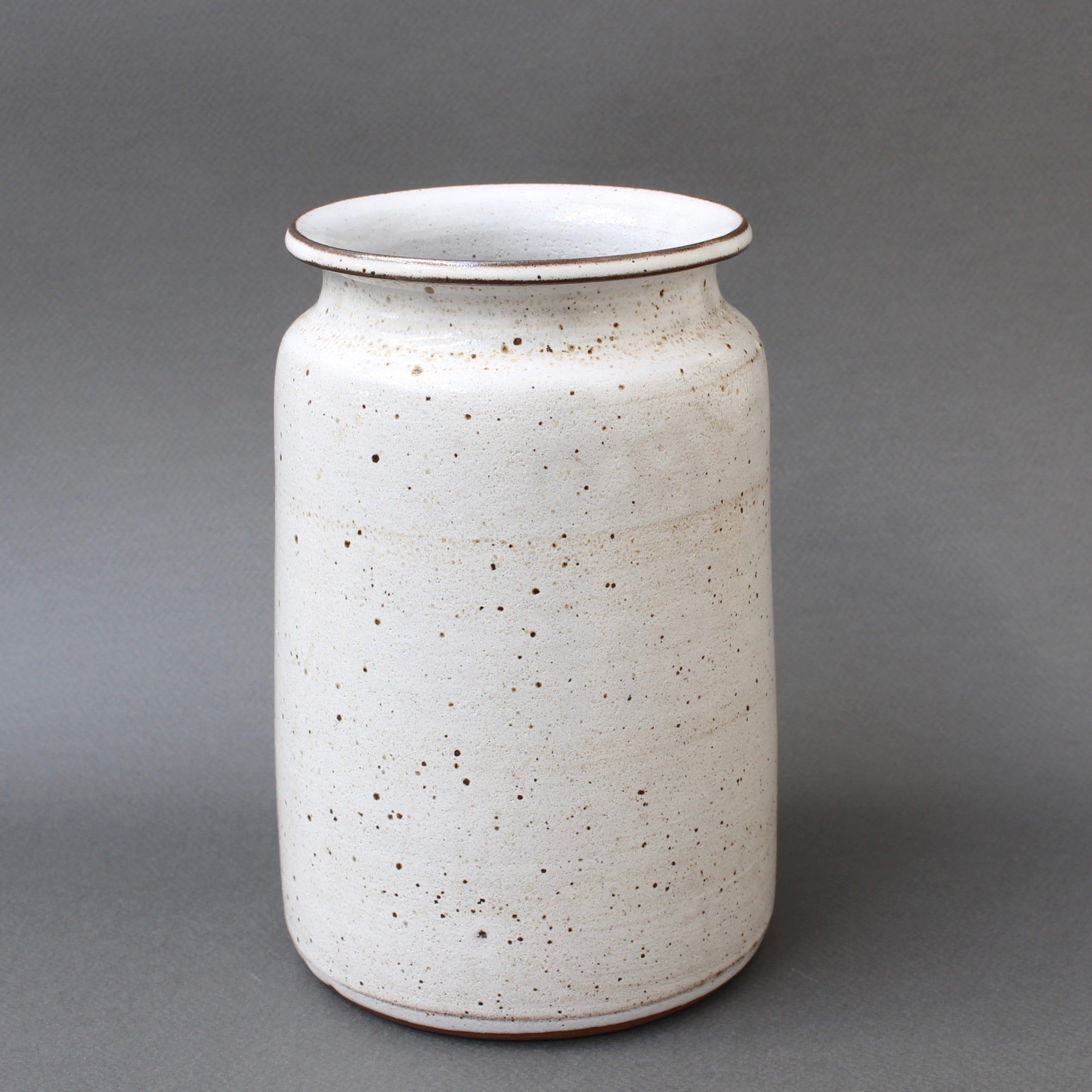 Mid-Century French Ceramic Vase by Jacques Pouchain / Atelier Dieulefit (circa 1960s)