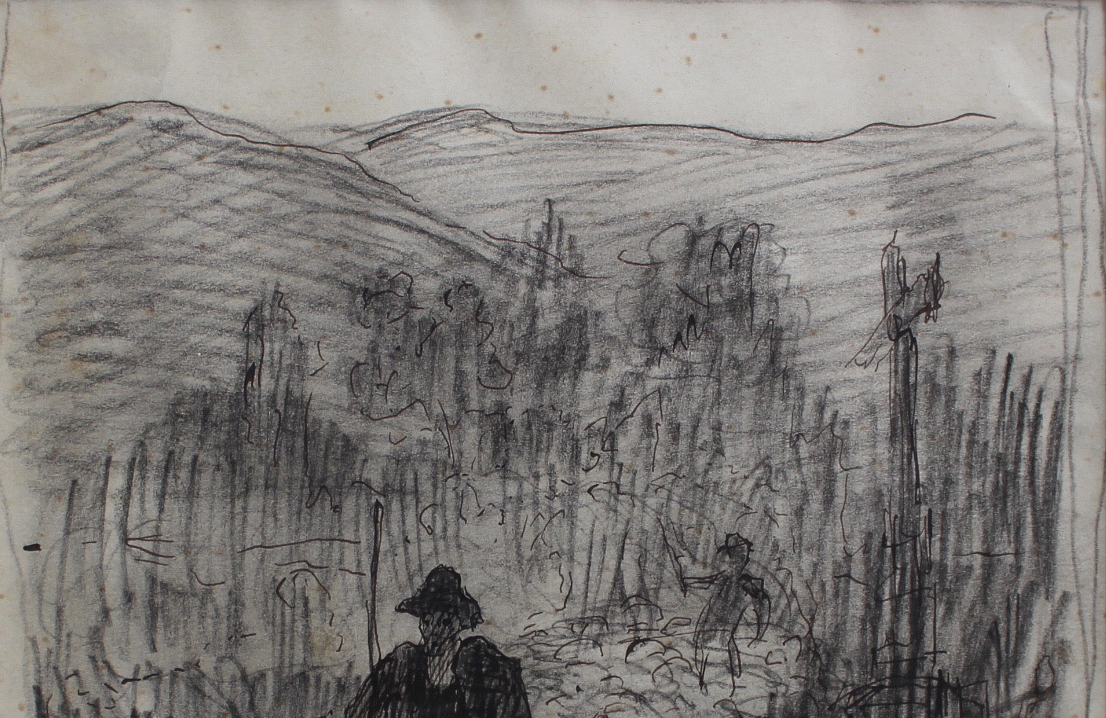 Study of Mountain Shepherds by Gaêtan Dumas (1906)
