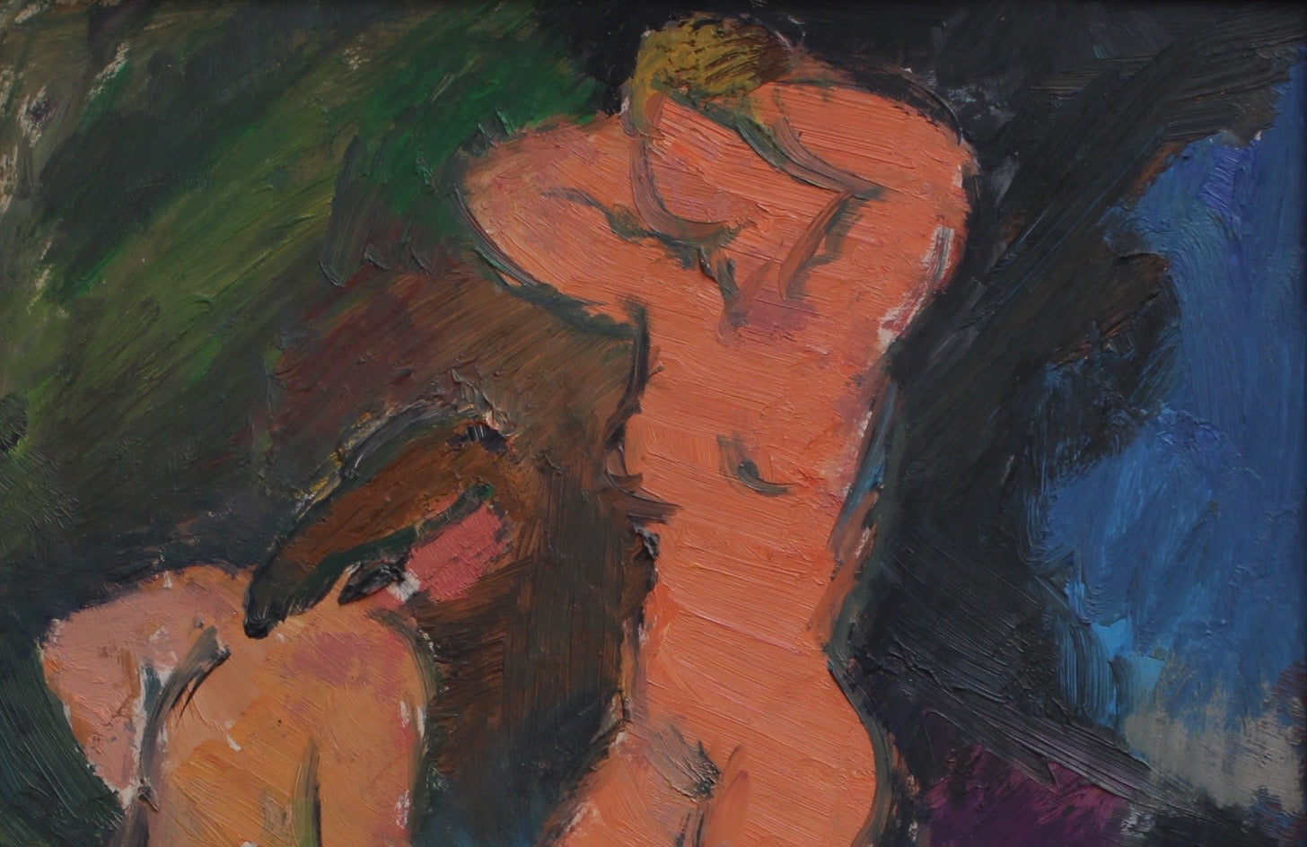 'Three Nude Women' by Louis Toncini (c. 1960s)