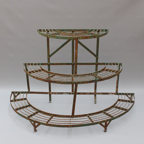 French Half-Moon Plant Stand (circa 1900 - 1920)