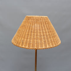 Italian Floor Lamp with Telescopic Height Adjustment (Circa 1960s)