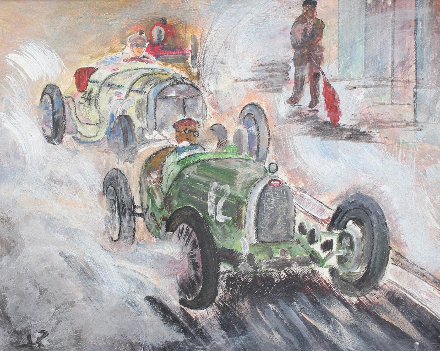 'Grand Prix Racer II', French School (circa 1960s)