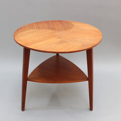 Mid-Century Scandinavian Side Table (circa 1960s)