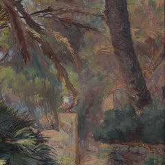 'Secret Garden Entrance' by Marie-Anne Nivouliès de Pierrefort (1902)