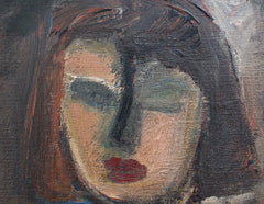 'Portrait of Young Woman', German School (circa 1940s - 60s)