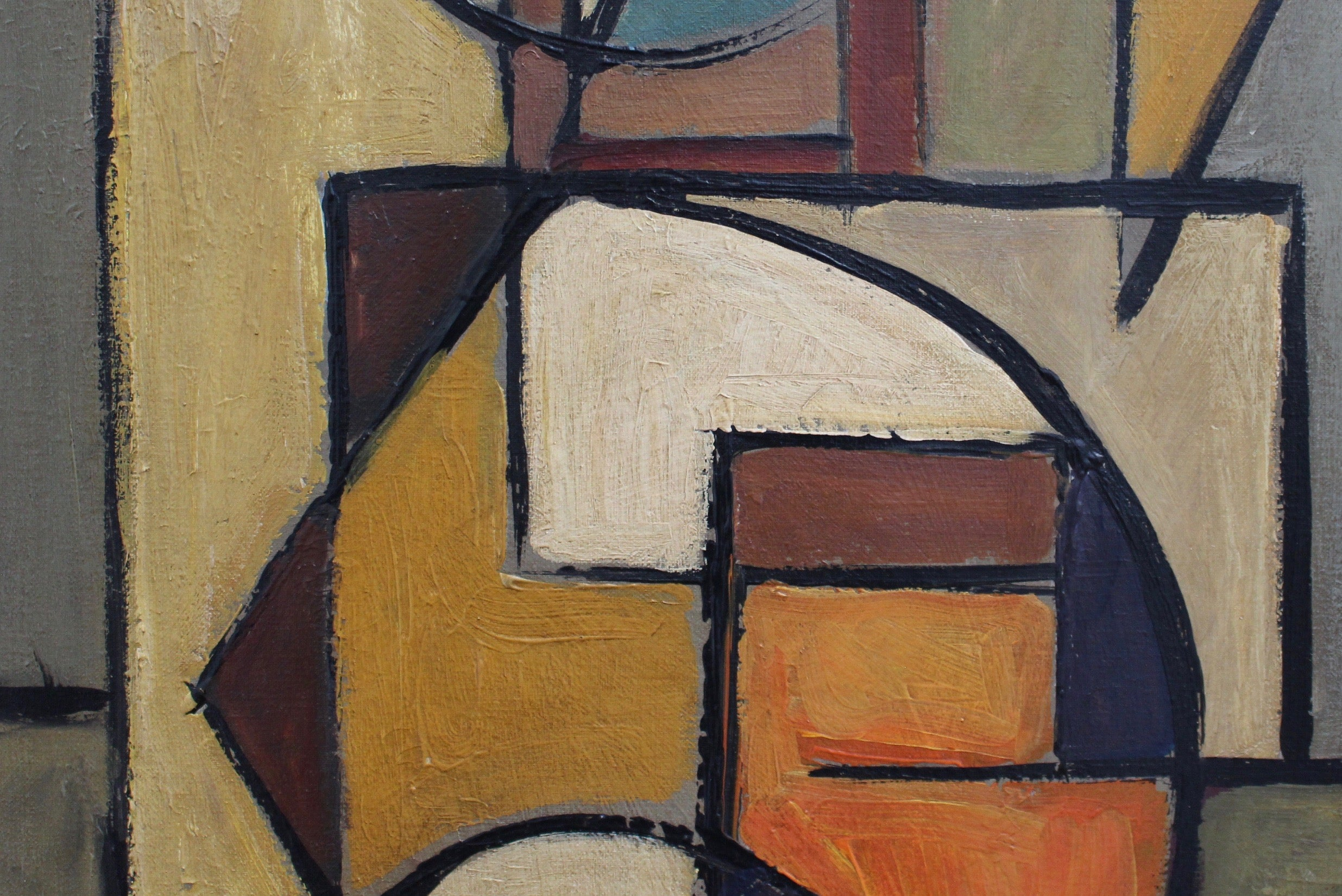 'Abstract Composition in Colour' by Lemaire (circa 1960s)
