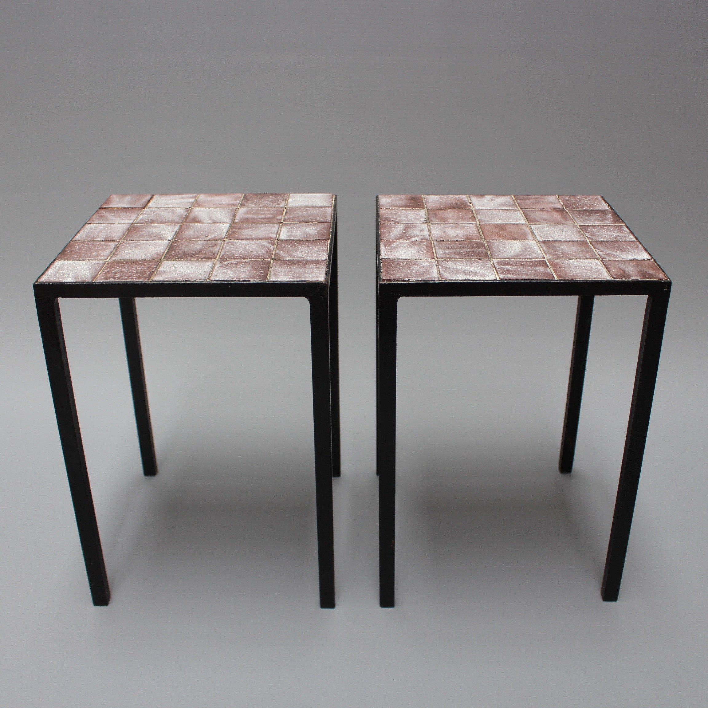Two Side Tables by Mado Jolain (c. 1950-1960)