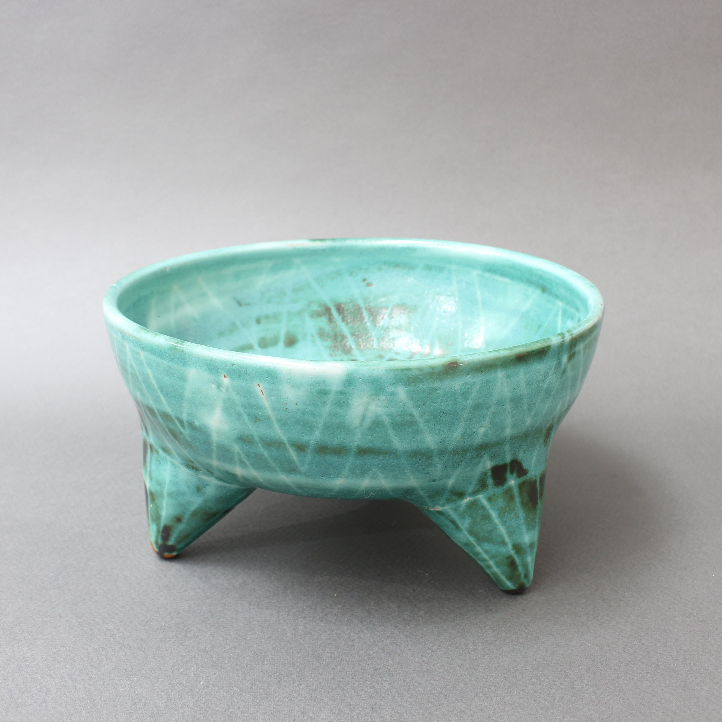 Mid-Century French Ceramic Bowl by Robert Picault (circa 1950s)
