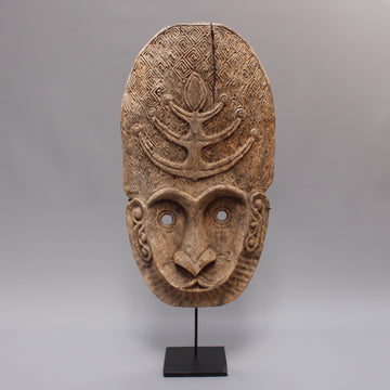 Timor Island Wooden Traditional Mask (Early 20th Century)