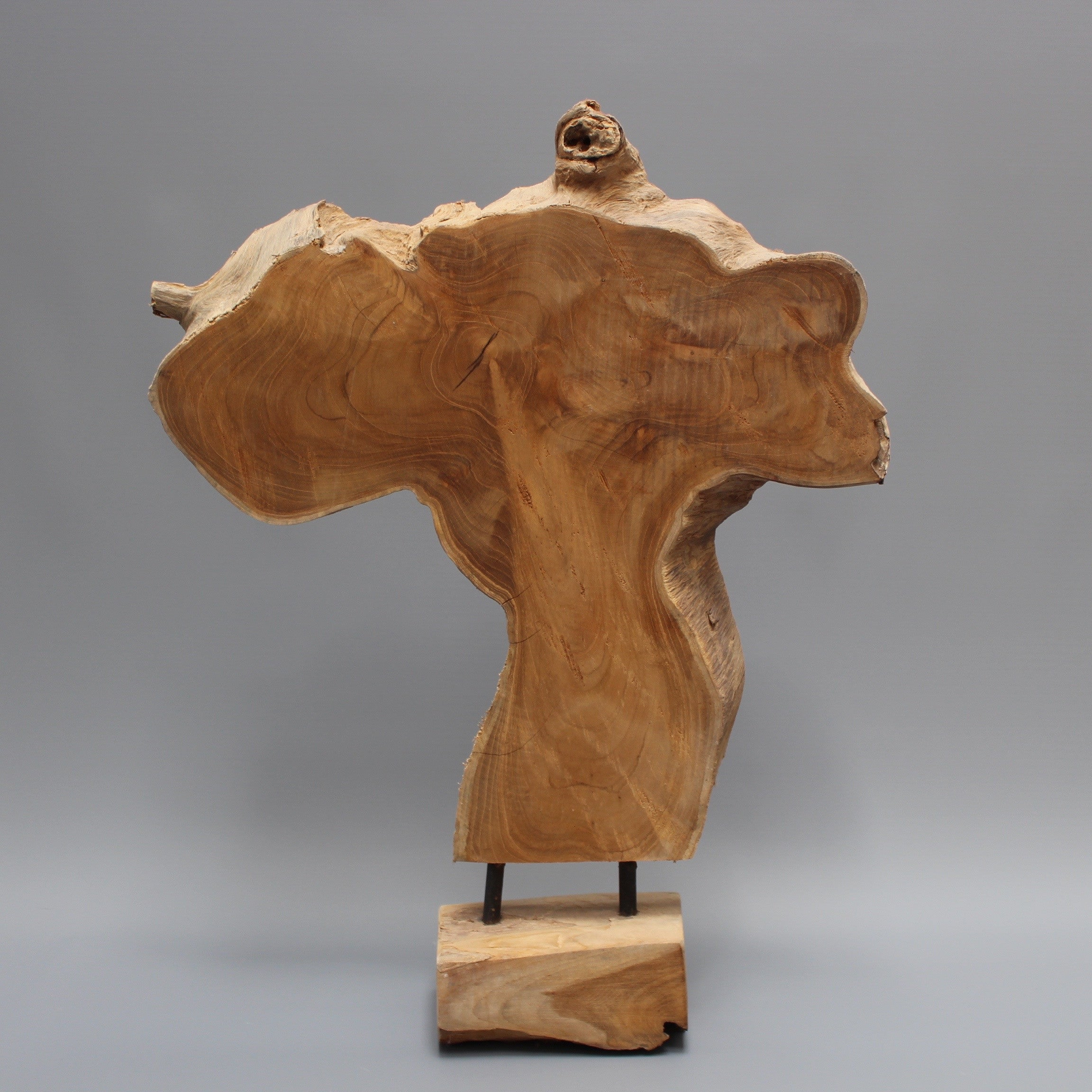 Japanese Natural Wood Sculpture (c. 1990s)