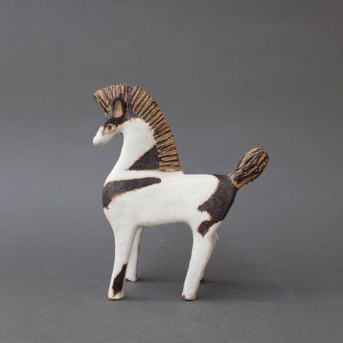 Set of Two Ceramic Horses by Bruno Gambone (Circa 1970s)